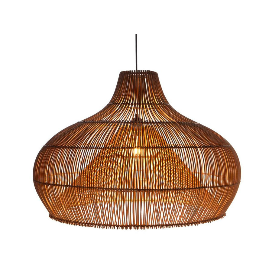 Villaflor Rattan Dome - hanglamp naturel