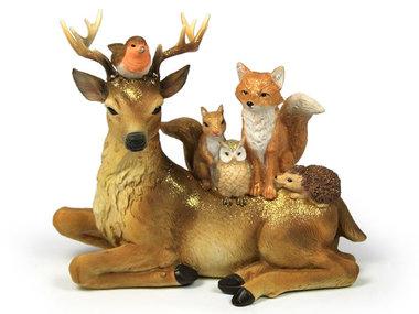 AM Design Bosdieren Familie, groot