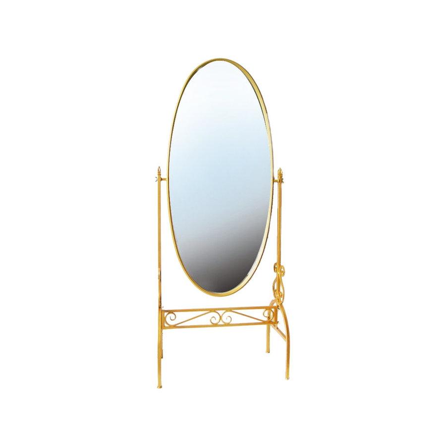 Staande Design Spiegel.Staande Kantelbare Spiegel