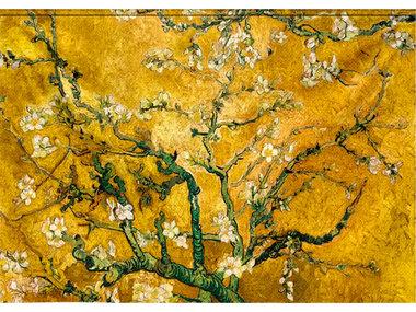 Mondi-Art Wandtextiel Gele Bloesem 190x132