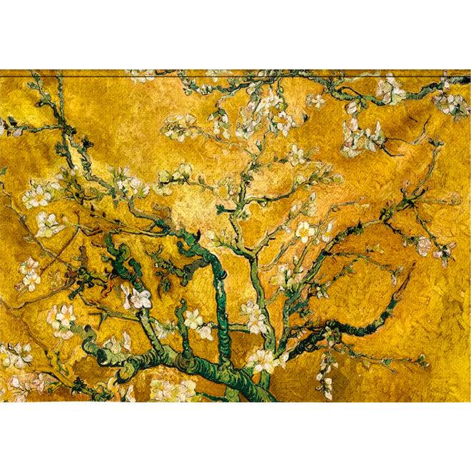 Wandtextiel Gele Bloesem 190x132