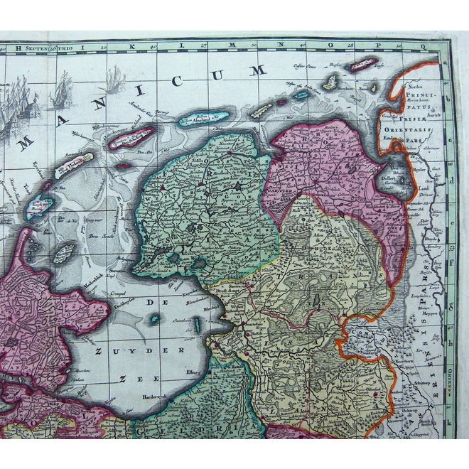 Collectie Gouldmaps - Republiek der Nederlanden; M. Seutter - Belgium Foederatum. - 1730 ca.