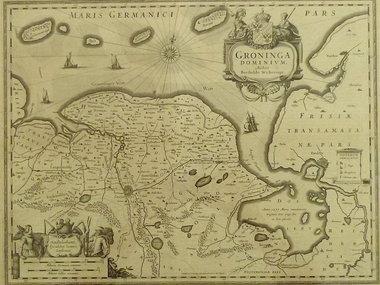 Gouldmaps Janssonius J. - Groninga Dominium.  - 1640 ca.