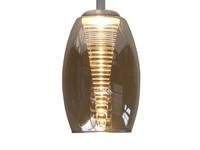 Highlight Hanglamp Nebula Amber, rond