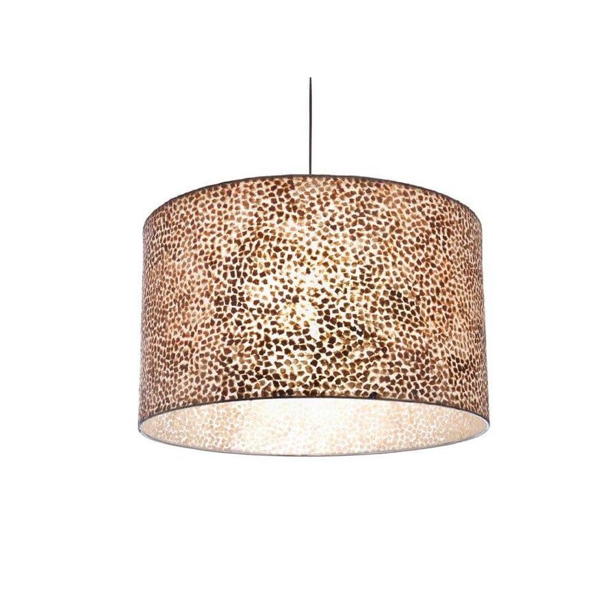 Villaflor Villaflor schelpenlamp - Wangi Gold - Hanglamp - cilinder - Ø 55 cm