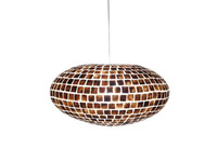 Villaflor Moni Gold - hanglamp - UFO - Ø 60 cm