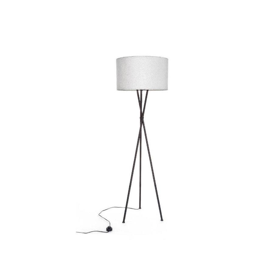Villaflor Wangi White - Kodiak vloerlamp met kap - hoogte 172 cm