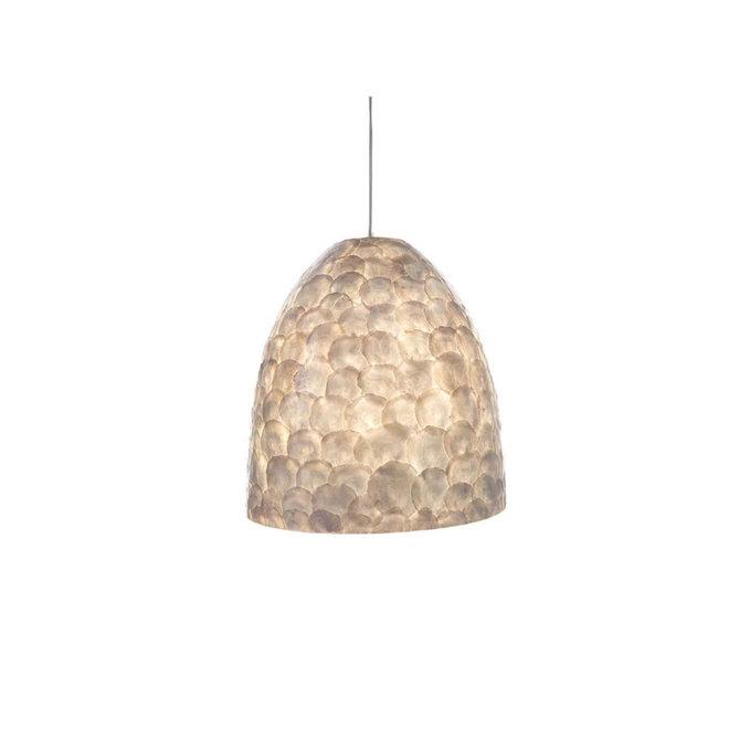 Villaflor schelpenlamp - Full Shell - hanglamp - Hangende Conus - M
