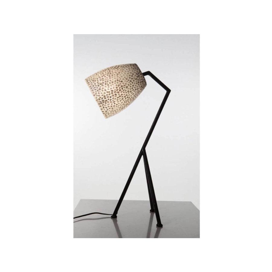 Villaflor Villaflor schelpenlamp - Wangi White - Elba tafellamp  - hoogte 60 cm