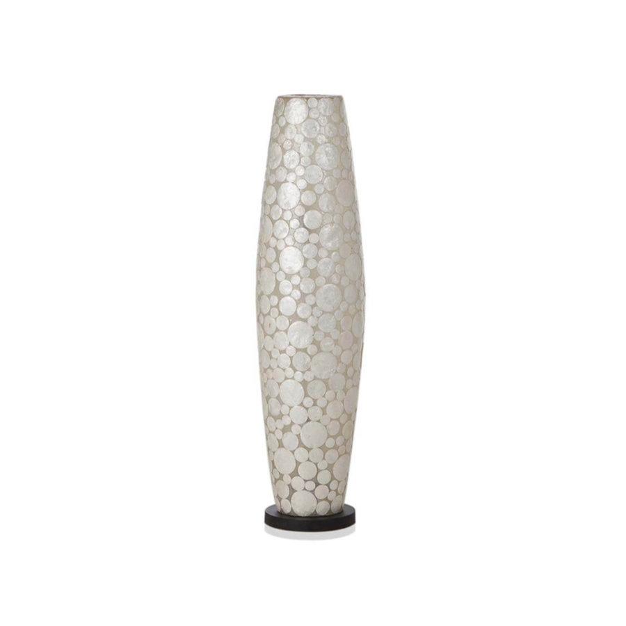 Villaflor Villaflor schelpenlamp - Coin White - vloerlamp - Apollo - 100 cm