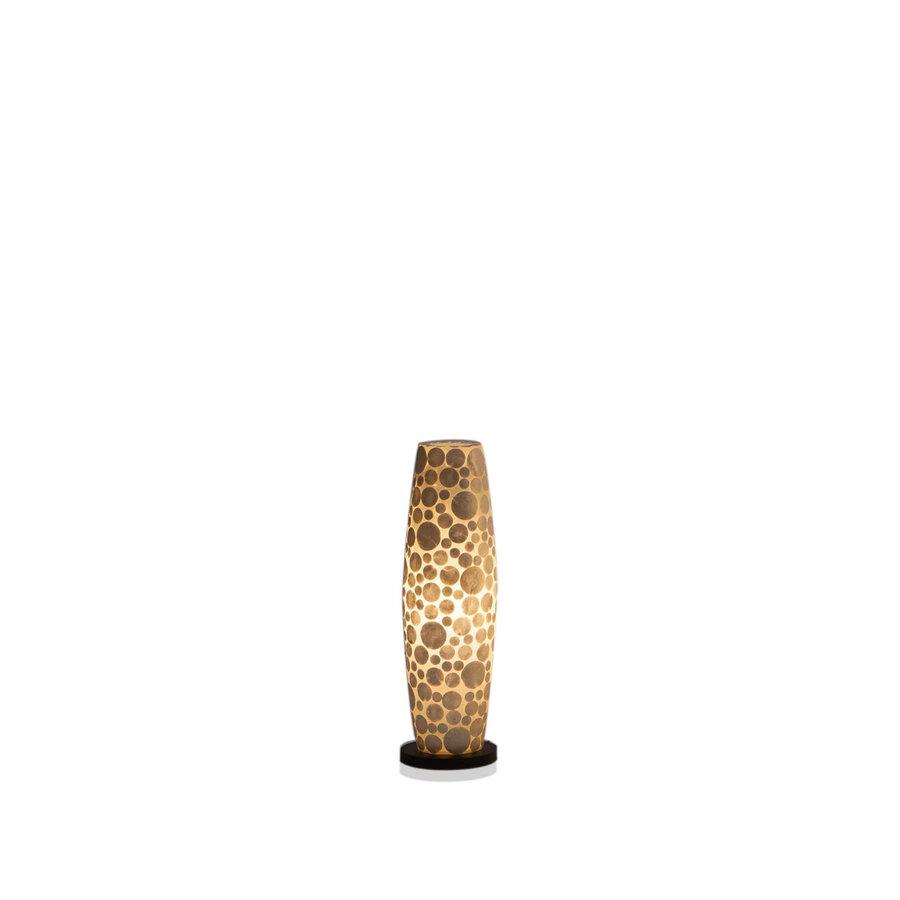 Villaflor Villaflor schelpenlamp - Coin White - vloerlamp - Apollo - 70 cm