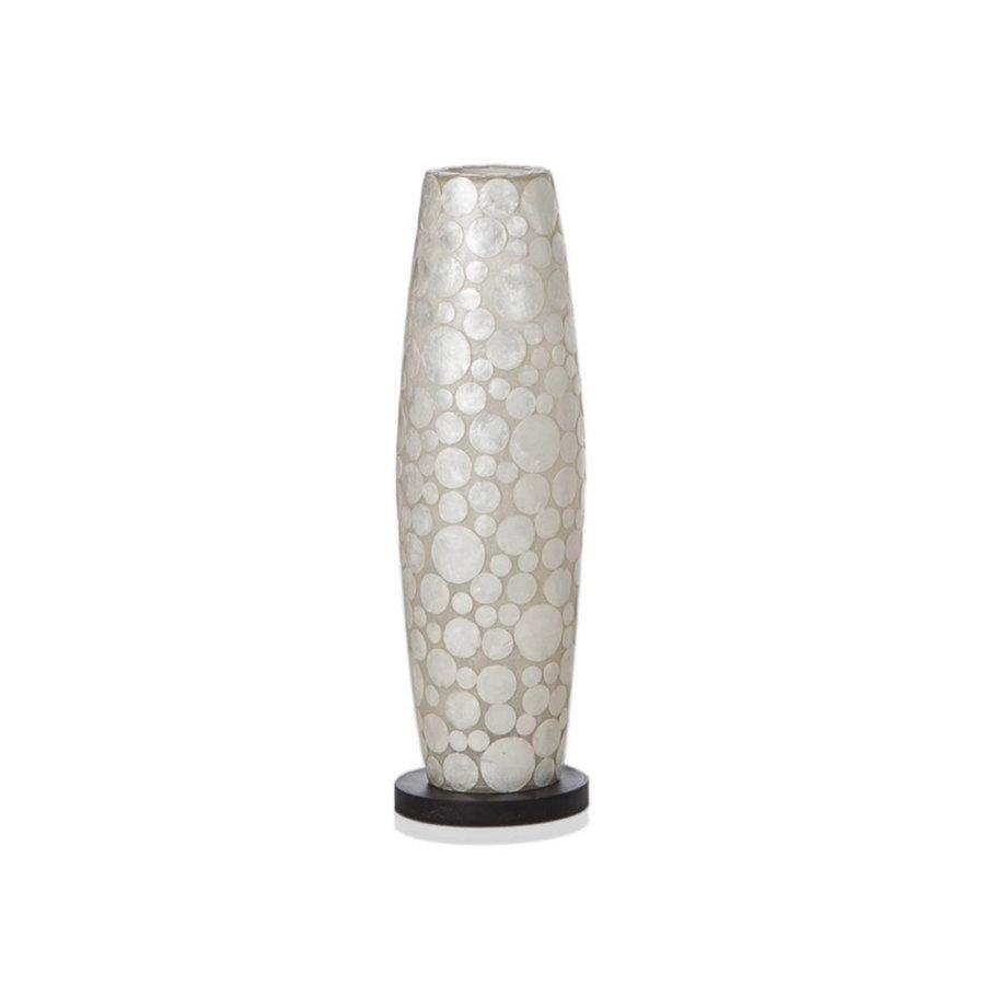 Villaflor Coin White - vloerlamp - Apollo - 70 cm
