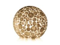 Villaflor Coin White - tafellamp - Staande bol - Ø 30 cm