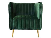 Exner Chair Divan Green