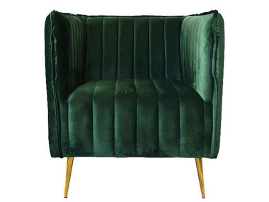 Exner Chair Divan Green