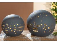 Gilde Table Lamp Ball City
