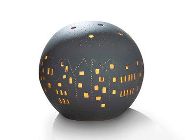 Gilde Table Lamp Ball Village