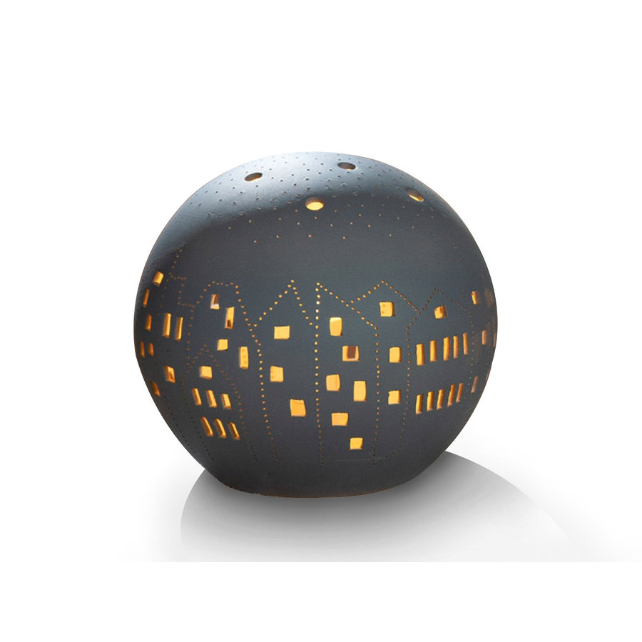 Gilde Table Lamp Ball Village