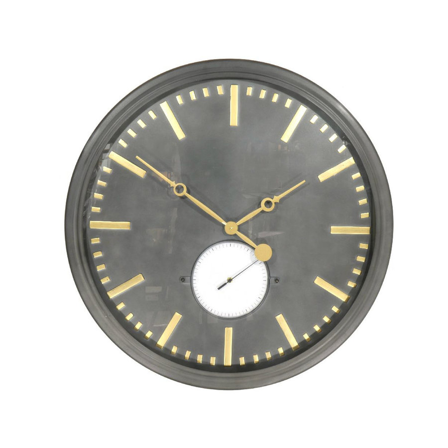 Goods by Goedegebuure Wall Clock Traditional Grey