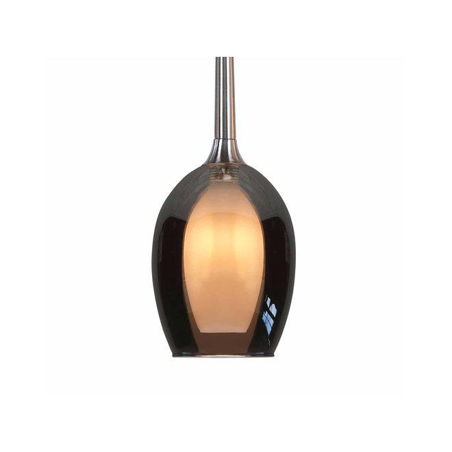 Hanglamp Belle Smoke, rond
