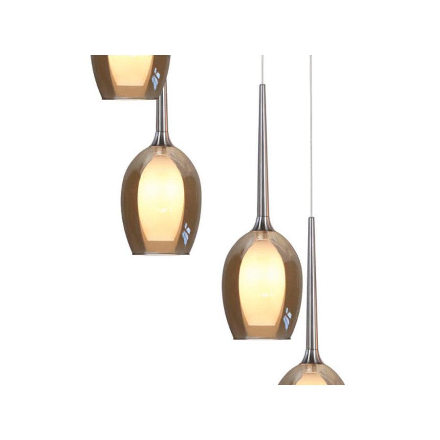 Highlight Hanglamp Belle Amber, rond
