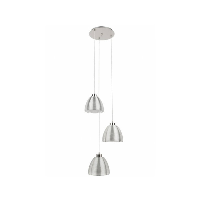 Hanglamp Whires Zilver, rond