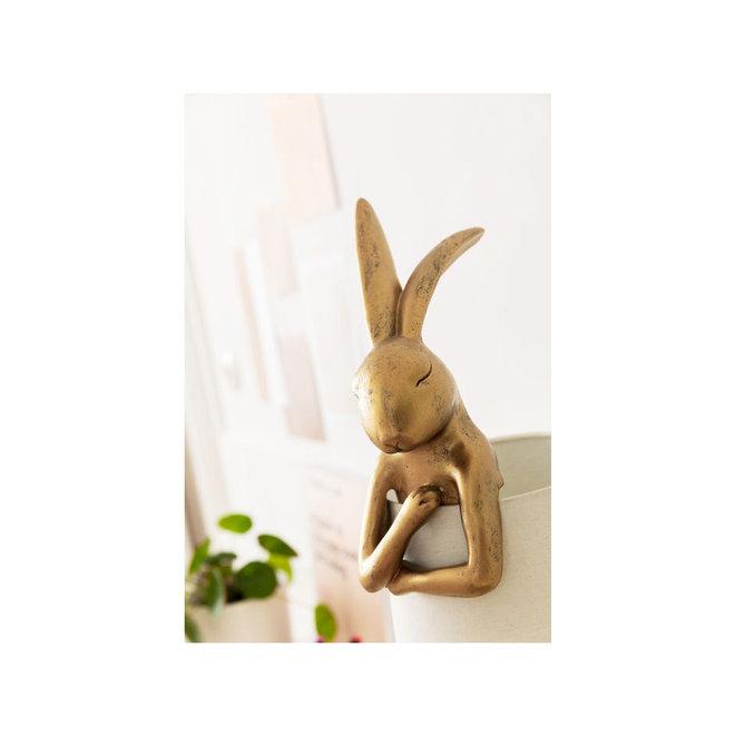 Table Lamp Animal Rabbit Gold