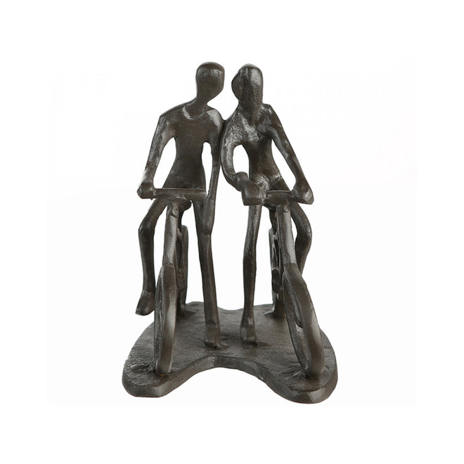 Metal-Sculpture 'Cycling Tour'
