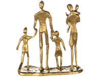 Casablanca Metal-Sculpture 'Family' gold