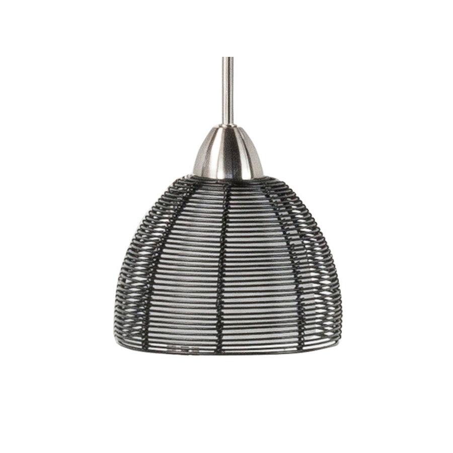 High Light Vloerlamp Whires Zwart