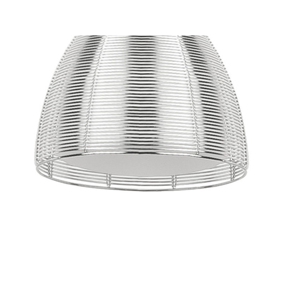 High Light Vloerlamp Whires Zilver