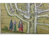 Gouldmaps Middelburg; G. Braun / F. Hogenberg - Middelburgum Selandiae Opp. (..) - 1575