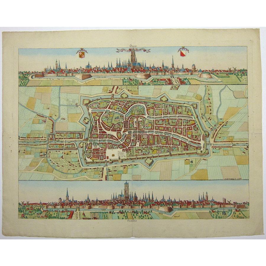 Gouldmaps Utrecht; A. van Vianen / N. van der Monde - Utrecht aertsbisdom. - 1842