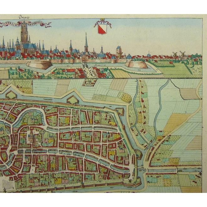 Verkocht - Collectie Gouldmaps - Utrecht; A. van Vianen / N. van der Monde - Utrecht aertsbisdom. - 1842