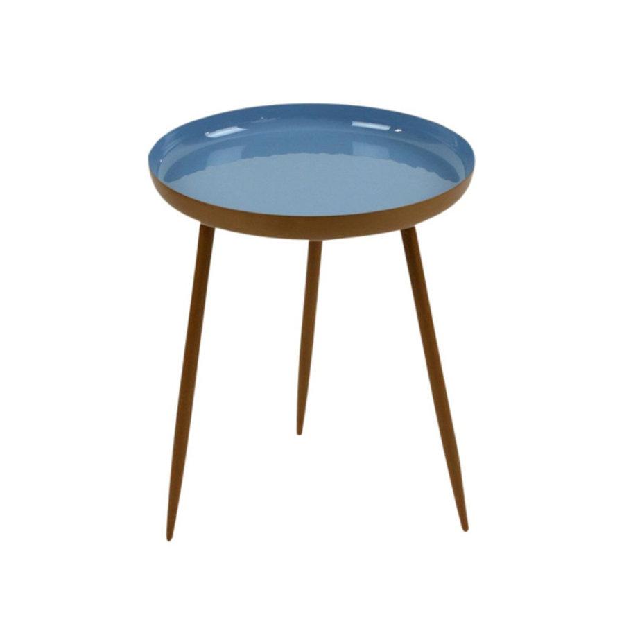 Werner Voß Side Table Shades Light Blue