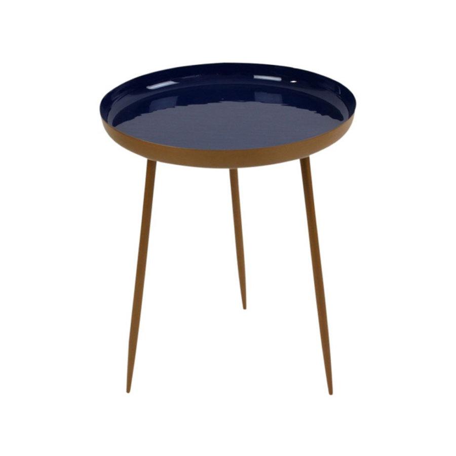 Werner Voß Side Table Shades Dark Blue