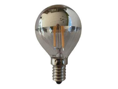 Kopspiegellamp LED E14 4W dimbaar 2200K