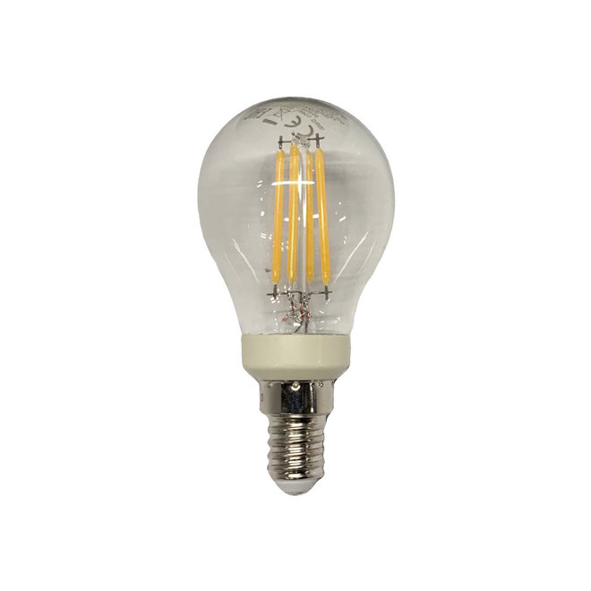 Bollamp LED E14 helder 470 lm dimbaar