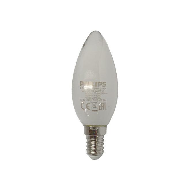 Kaarslamp LED E14 mat 250 lm
