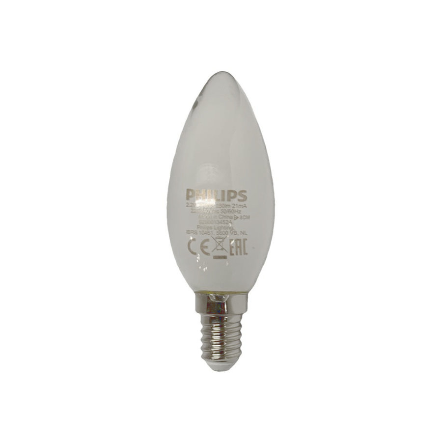 Philips Kaarslamp LED E14 mat 250 lm