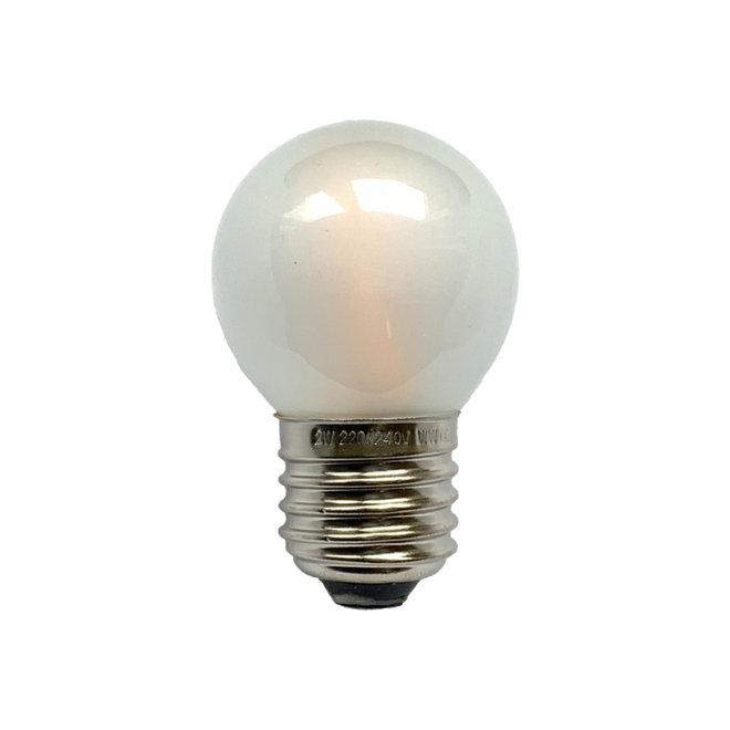 Bollamp mini LED E27 mat 100 lm 2200K