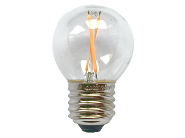 Bollamp mini LED E27 helder 100 lm 2200K