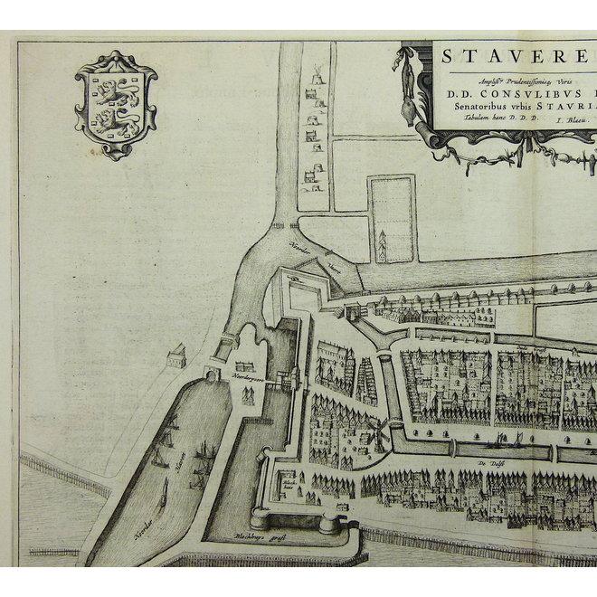 Collectie Gouldmaps - Stavoren; J. Blaeu - Staveren. - 1649