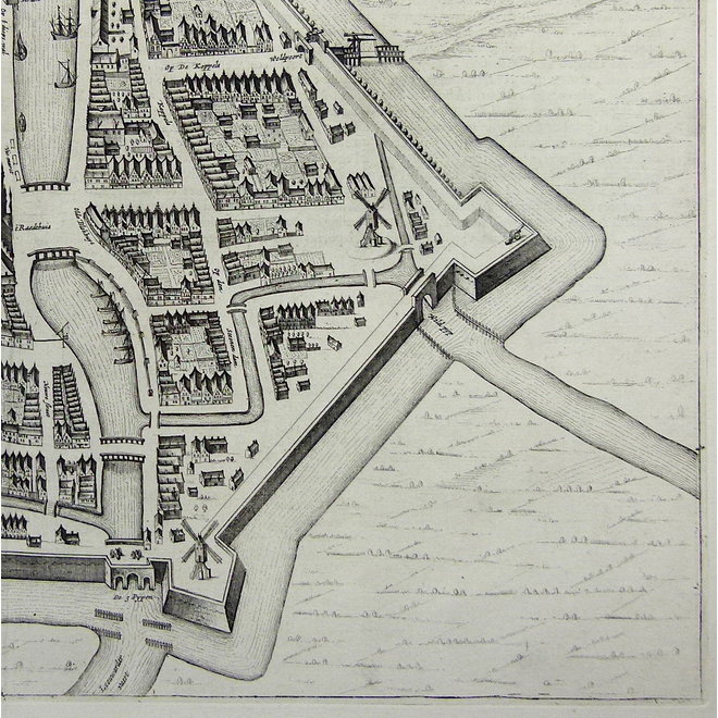 Collectie Gouldmaps - Dokkum; J. Blaeu - Dockum - 1649
