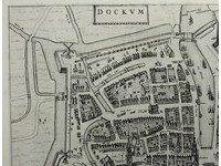 Gouldmaps Dokkum - J. Blaeu - Dockum - 1649