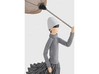 Skitso Skitso Tafellamp Paraplu dame Iro