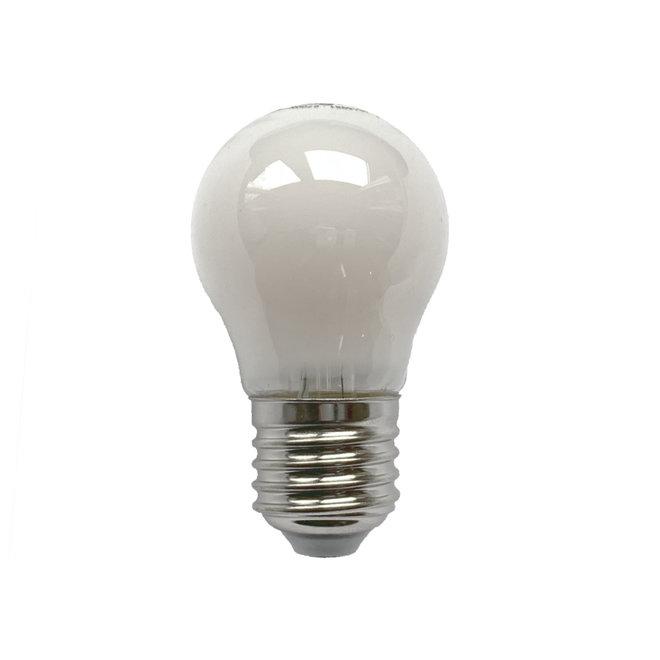 Bollamp mini LED E27 mat 470 lm dimbaar