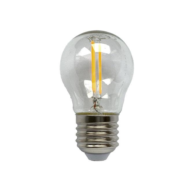 Bollamp mini LED E27 helder 250 lm dimbaar