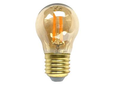Bollamp LED E27 goud 350 lm 2200K dimbaar