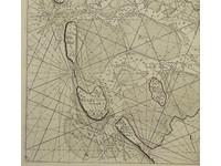 Gouldmaps Zuiderzee; S. Thornton - A chart of the South Sea Texel & ye Fliestream with ye Amelander gat. - 1756